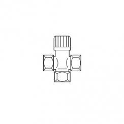 Vaillant hmv keverőszelep 3/4, termoszttatikus szolárrendszeriekhez