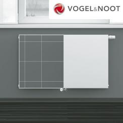 Vogel & Noot acéllemez radiátor 33 PM 300x520 síklapú T6