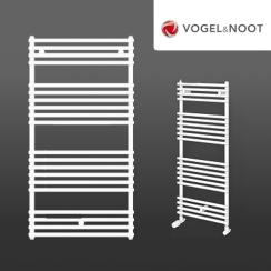 Vogel & Noot Della törölközőszárítós egyenes csőradiátor 400x700