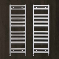 Zehnder Aura törölközőszáritós íves radiátor - fehér - 500x1800