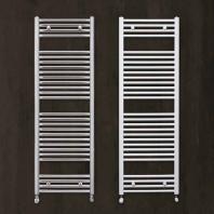 Zehnder Aura törölközőszáritós íves radiátor - fehér - 600x1500