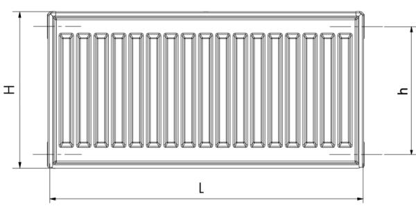 Dunaterm acéllemez radiátor mérete