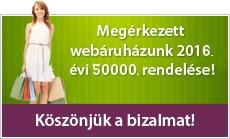 Megérkezett webáruházunk 1000. rendelése!